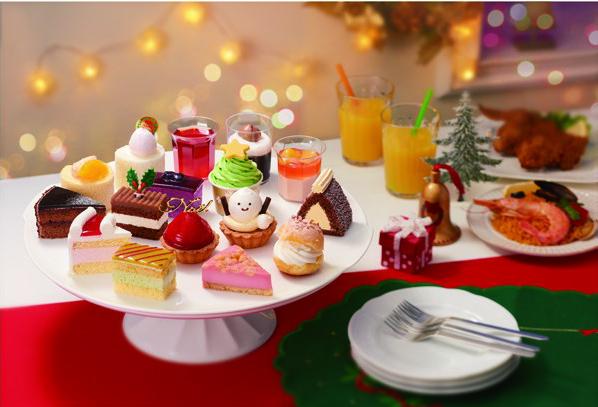 2016イオンクリスマスケーキ「スイーツパーティ」