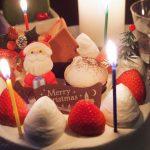 大好きな彼とおうちクリスマス!楽天で買える2人用クリスマスケーキ11選