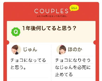 Couplesの特徴3:毎日のQ&A