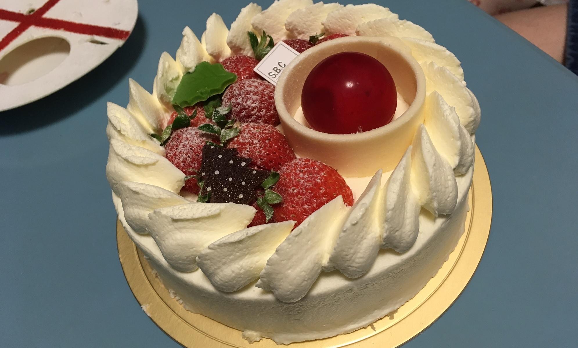 ホワイトチョコの円盤