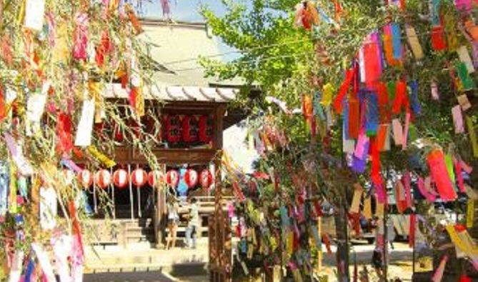 七夕伝説と七夕神社の関係