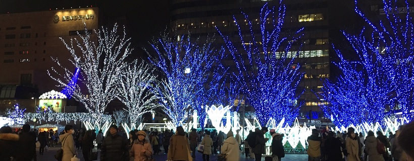 博多駅イルミネーション