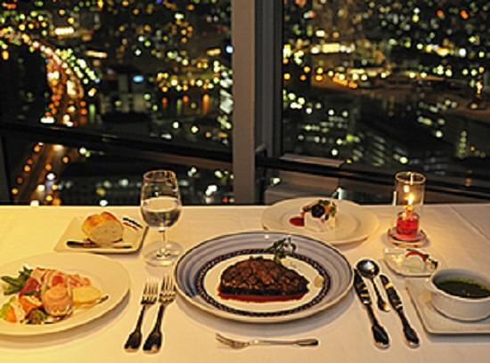 恋人のための福岡タワーレストラン