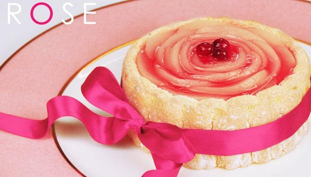 大輪の薔薇「シャルロット・ロゼ」