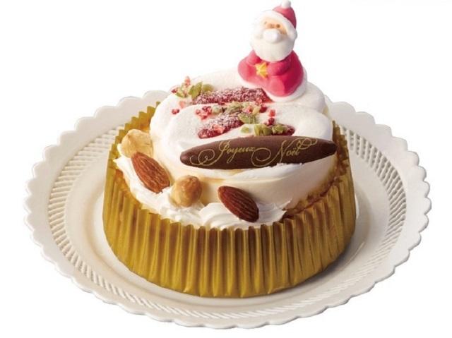 サンタのスペシャルチーズケーキ(4号相当)