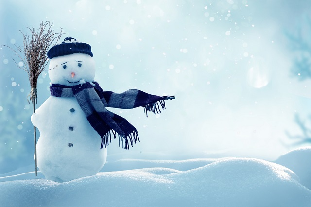 雪も降り積もる1月なのに...寒いよ...!