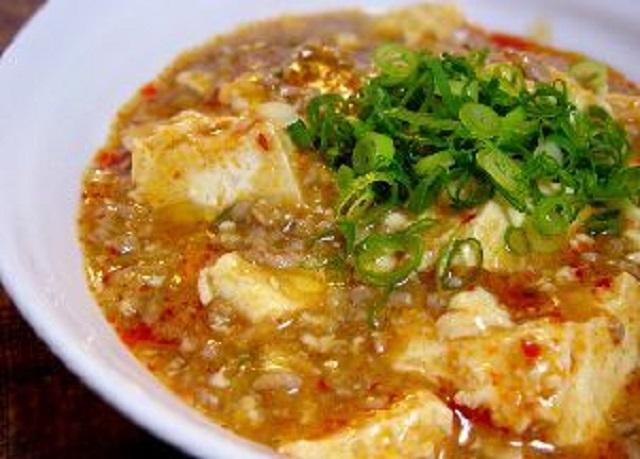 麻婆豆腐(マーボードウフ)