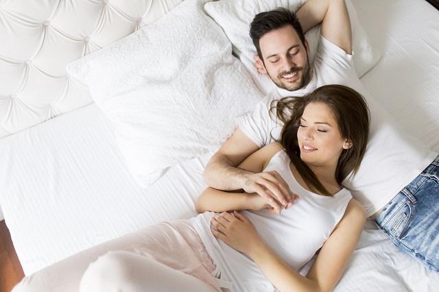 安定期までは夫婦生活を控えることを決意!