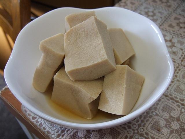 第4位:高野豆腐煮