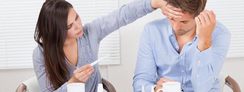 育児中に夫が風邪でダウン!微熱のくせに仕事も育児も放棄で羨ましい!