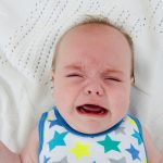 【生後3ヶ月】ネントレ初日は顔を真っ赤にして大泣き!1回の睡眠時間はわずか3分!