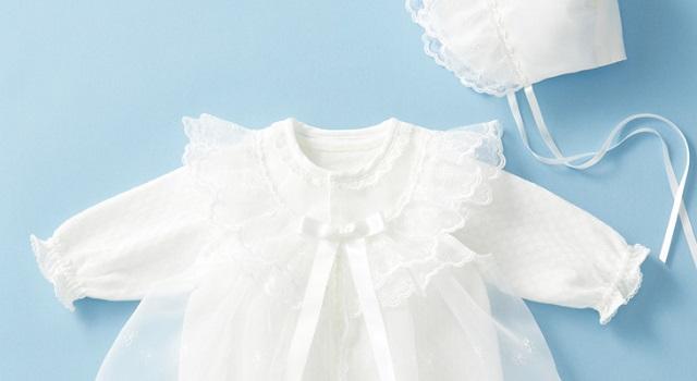 臨月に入って義両親からベビードレスを頂くことに!