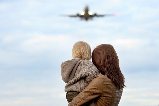 生後4ヶ月赤ちゃんとの飛行機...意外となんとかなる!